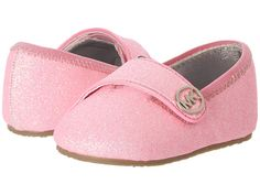 MICHAEL Michael Kors Kids Baby Grace Glitter (Infant/Toddler) Neon Pink - Zappos.com Free Shipping BOTH Ways
