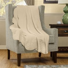 Tuscany Quilted Throw