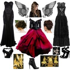 """The Erinyes/The Furies (Goddesses of Vengeance)"" by lilacmayn on Polyvore"