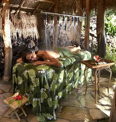 Spa in Hawaii....  I want to be there.