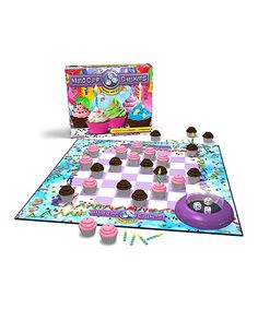 Love this Cupcake Madd Capp Checkers by Madd Capp on #zulily! #zulilyfinds
