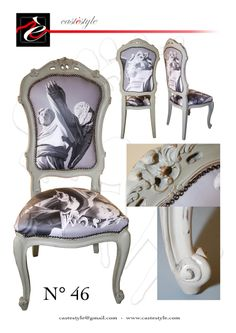 Sedia Angelo CASTèSTYLE - Angel Chair Ideata da Mauro Manco per CASTèSTYLE Produzione  Mobili Artistici
