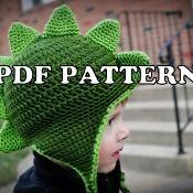 Classy Crochet Dapper Dino Hat - via @Craftsy