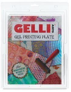 Blick art supply: Gelli Arts Printing Plate - 8 times; 10, Printing Plate: Arts, Crafts & Sewing
