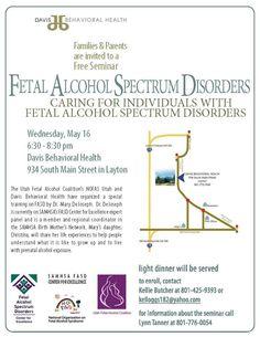 FASD training. May 16, 2012.  Layton, Utah.