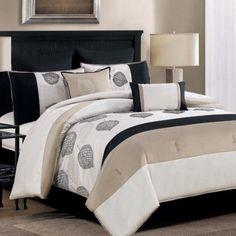 C.H.D Home Terrytown 8 Piece Comforter Set