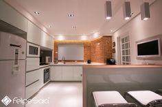Projeto de cozinha - Felipe Saia Arquitetura