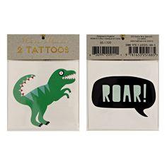 Dinosaur Tattoos By Meri Meri