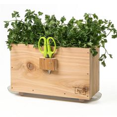Always have fresh herbs on hand for your meals. Indoor harvest box goes right on your window sill. At Lehmans.com.