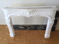 Fireplace Plaster Mantle with Travertine and Marble insert City of Toronto Toronto (GTA) image 2