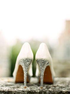 Beautifully Festive London Wedding from Ann-Kathrin Koch - wedding shoes