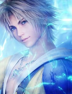 Final Fantasy X...Tidus...loved the game play story wasnt as good as the usual ff games but still great :)