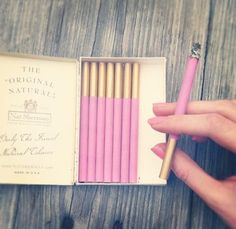 Pink cigarettes