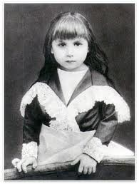 Divine Mother as a child in Paris