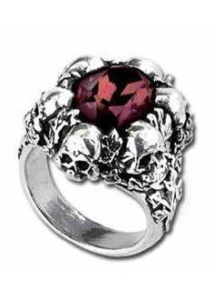 Shadow of Death - Alchemy Gothic Rings