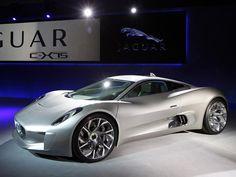 Jaguar C-X75 Concept, el auto del villano de la nueva película de James Bond