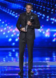 Stephen Curry. Espy Awards. July 15, 2015. Best Male Athlete