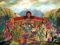 """""""Our Mother Earth."""" by Paula Nicho Cumez (Maya, Guatemala)"""