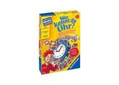 Wer kennt die Uhr? Spiel und Puzzle, 5-9 Jahre von Ravensburger Verlag bei Spielundlern online bestellen