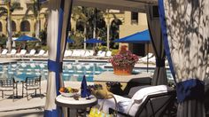 Book a private poolside cabana (Ritz Carlton, Naples, FL (Beach)) for the ultimate luxury!