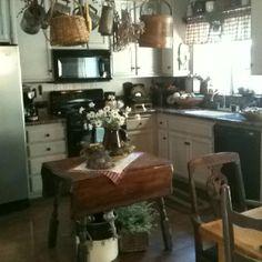 My primitive kitchen!