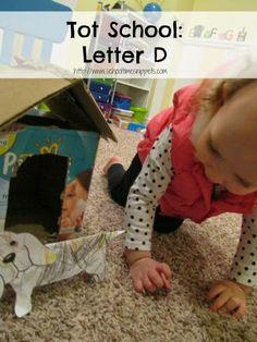 Tot School: Letter D