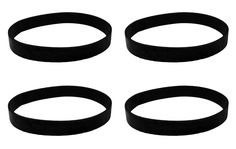 4 Hoover Elite Rewind Vacuum Belts Compare to Part # 40201190, 38528040
