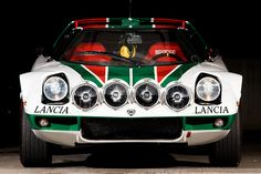 automotivated: Lancia Stratos - Front (by bennorz) Rally Car, Car Car, Sport Cars, Race Cars, Lancia Delta Integrale, Chasing Cars, Expensive Cars, Car And Driver, Car Wallpapers