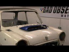 Project Binky - Episode 7 - Austin Mini GT-Four - Turbocharged Mini Binky, Rally Car, Projects, Log Projects, Blue Prints
