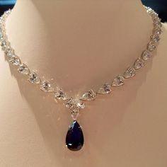 Amazing #necklace by #ciribelli #monaco #diamonds #sapphire #whitegold #diamond #jewelry #jewel #jewellery #joaillerie #bijoux #highjewellery #hautejoaillerie #amazing #cute #beautiful #beauty #love #fashion #style #instagood #instamood #instalike #followme #mariigem #gold #platinum #luxuryjewelry #newcollection