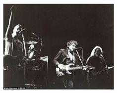 BACK IN THE DAZE DEPT: Bob Dylan plays guitar with the Grateful Dead LA Forum February 12 1989