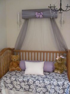 CrOwN Pelmet Upholstered Awning GRAY White LaVeNder Princess Bed Canopy girl bedroom nursery crib FrEe ShiPPinG & ZEBRA Bed Crown Canopy Teester Pelmet SALE Upholstered Princess ...