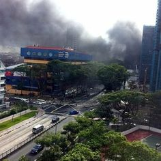 Fire at East Village Hotel, Singapore Put Out Credits: Yahoo www.instagram.sg