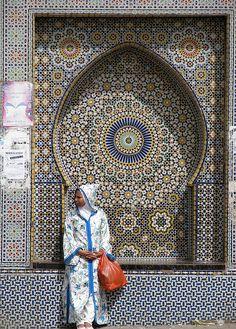 古都メクネスの絶景写真画像 モロッコの世界遺産