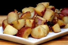 A Little Bit Crunchy A Little Bit Rock and Roll: Beer Steamed Potatoes with Rosemary