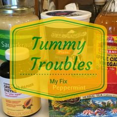 My Fix For Tummy Troubles - http://blueyonderurbanfarms.com #digestion #enzymes #stomach
