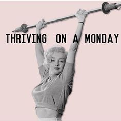 "Happy Monday! Let's crush some goals this week! #thriving #morninginspiration""Elm.le-vel.com"