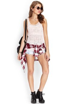 Forever 21 is the authority on fashion & the go-to retailer for the latest trends, must-have styles & the hottest deals. Shop dresses, tops, tees, leggings & more. Boho Shorts, Latest Trends, Forever 21, Topshop, Rompers, Leggings, Clothes For Women, Tees, Sweaters