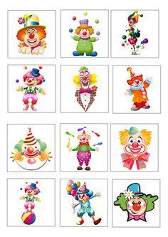 Risultati immagini per carnaval kleuters Circus Birthday, Circus Theme, Circus Party, Clown Crafts, Carnival Crafts, Circus Activities, Craft Activities, Clowns, Theme Carnaval