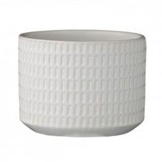 Flower Pot - Matte White
