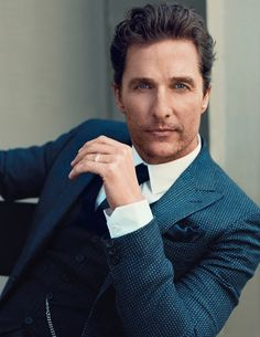 Matthew McConaughey with just the right amount of dirty.