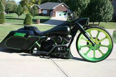 "2010 HARLEY DAVIDSON ROAD KING BAGGER 30"" CUSTOM MOTORCYCLE STREET GLIDE"