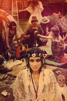 Vintage Headwear Now - The Evolution of Festival Fashion - Photos