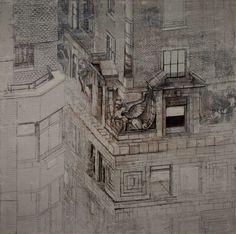 Patrick Pietropoli - Mercantile Building Detail