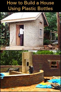 How to Construct Houses with Plastic Bottles!