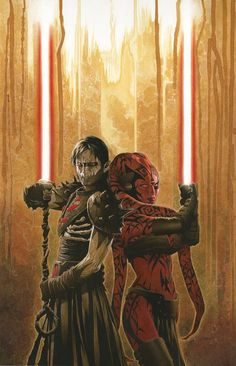 Dart Nihl and Darth Talon