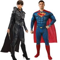 Man of Steel Couples Costumes