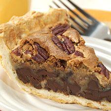 Chocolate Chunk Pecan Pie!