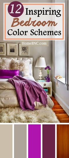 Bedroom Color Scheme Decor Ideas