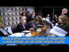 Defesa de Dilma abandona comissão de Impeachment e causa confusão, por n...